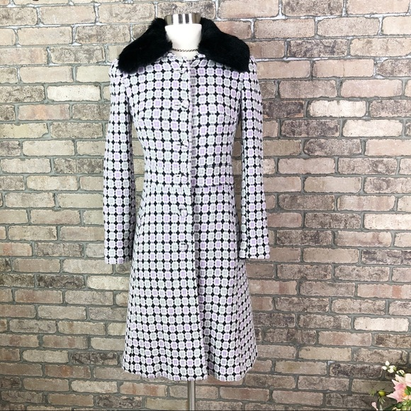 Marciano Jackets & Blazers - Marciano Long Coat Wool Jacket Fur Collar Winter